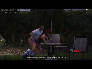 Gta 5 trevor fucks ashley plus side mission table fuck