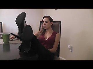Sasha Foxxx feet JOI