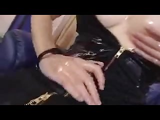 Futanari masturbation