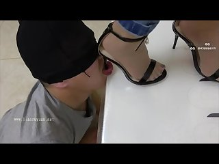 Chinese femdom high heel domination