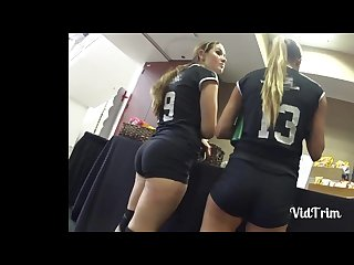 Tight volleyball ass