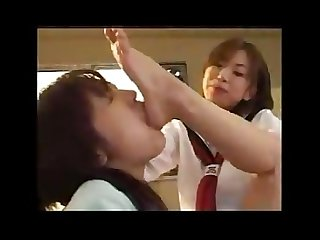 Mistress schoolgirl foot worship slave teacher