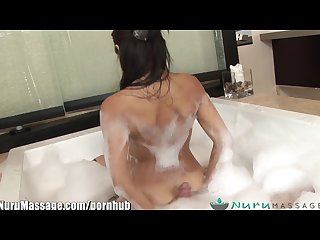 Nuru massage jackie lin s sensual sliding rub and tugs