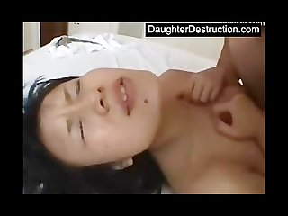 Brutal japanese daughter abuse