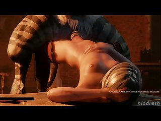 Ciri looking for anal adventures 3d rough sex