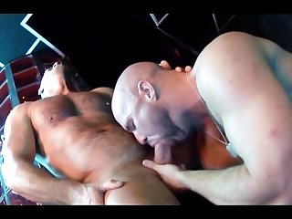 Hot bald Bathhouse Bears