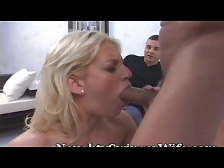 Neighbor has a bigger cock for wifey