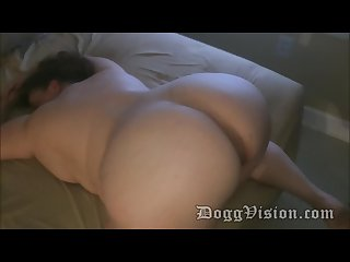 Bbw con increble culo bareback home video