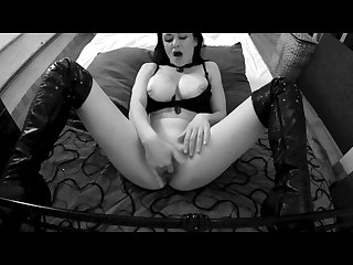 Sexy Stripper Baby Bella Desperate For Cock Fucks Her Dildo Hard To Cum