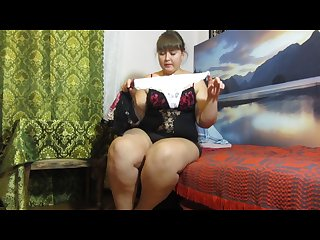 Pissing in panties fat russian woman