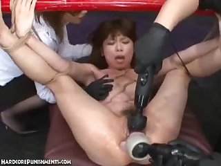 Japanese bondage sex extreme bdsm punishment of asari pt 9