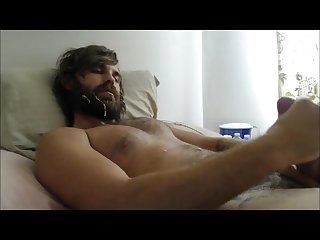 Cum in my own beard