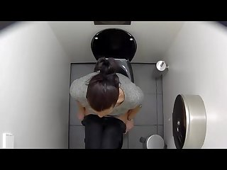 Voyeur webcam in public toilets by troc