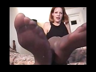 Lisa charlie S smelly foot torture