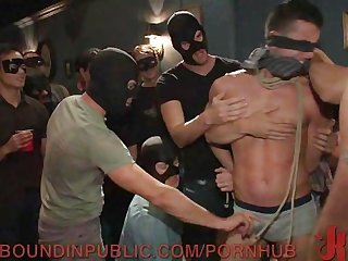 Kidnapped and used as a sex party slave