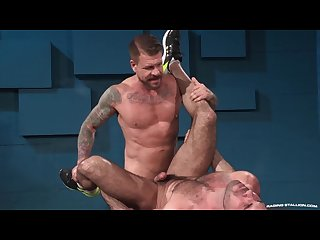 Raging Stallion who s up for an ass pounding