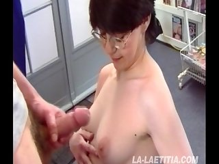 French amateur fucked for laetita