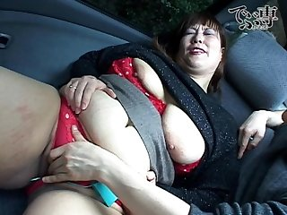 Fat japanese mature tortured with vibrator