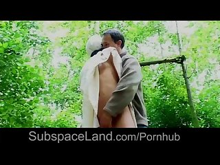 Blindfolded under big sheet helpless serf is getting hard ass whipping