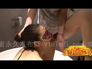 Chinese mistress yixuan piss on female slave ass licking