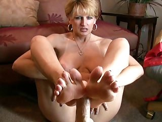 foot Amateur job mature