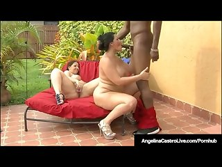 Bbws angelina castro lexxxi lockhart suck big black cock