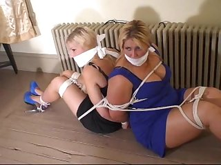 Back to back gagged