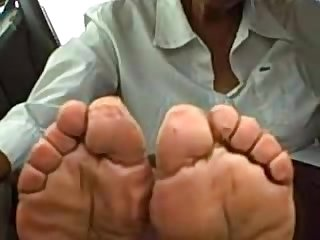 Granny most wrinkled soles