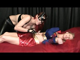 Supergirl Belly licking