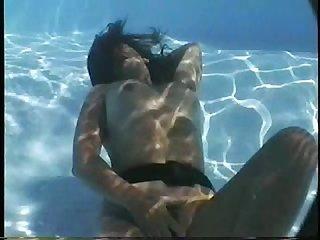 Michelle underwater