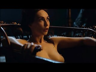 Melisandre tits seduction game of thrones
