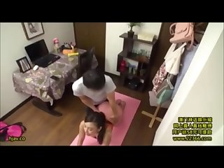 Japanese wife yoga session gone wild