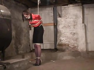 Strung up in the basement
