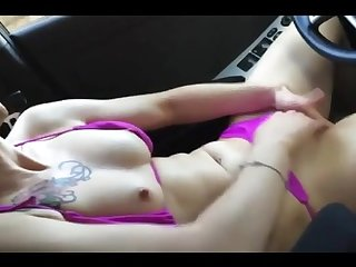 Cum in my car