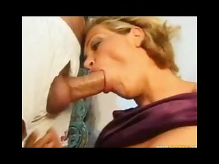 German mature fucked by two guys