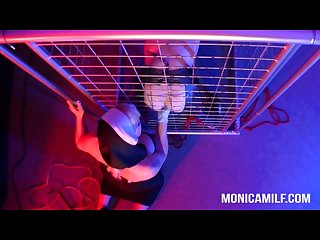 Monicamilf as the dirty norwegian femdom kinky pegging nun