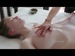 Emily double orgasm massage