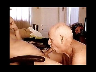 Grandpa love piss and cum