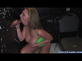 Glory hole slut