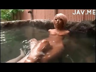 Tan Gyaru - Pool Play Fellatio