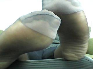 Bbw hosed soles