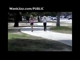 Humiliate girls in public