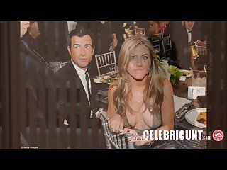 Sensational celebrity babe jennifer aniston downblouse collection hd
