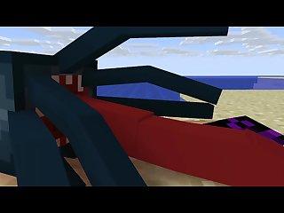 Minecraft Fun at the Beach [Endie X Squid]