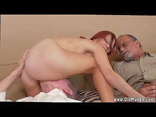 Old milf masturbate Hd and old women young girl and old young footjob and