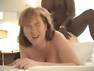 Redhead wife dawn takes bbc anal and creampie