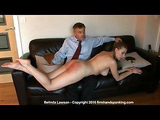 La paliza de belinda totalmente desnuda