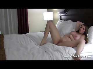 Chubby slut milf opens legs for older guy in one night stand