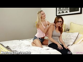 Webyoung ariana marie loses lesbian virginity