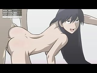 Anime babe gets anal